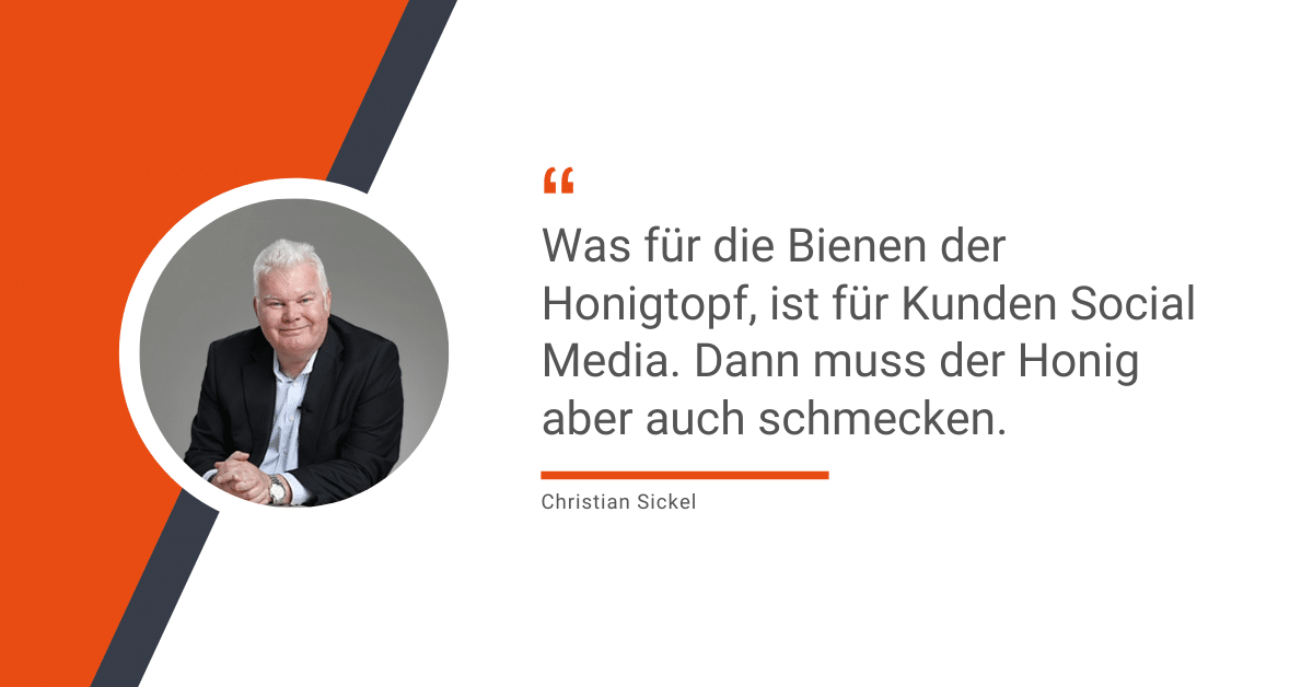 Vertriebschanc Social Media Christian Sickel