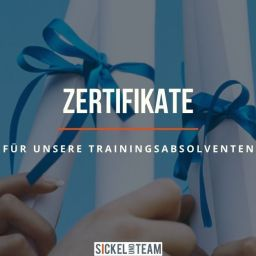 Zertifikate Sickel-Team
